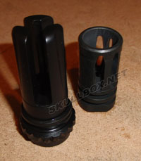AAC blackout flash hider