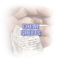 Cheat Sheets - Network & Server