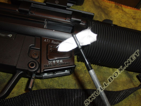 GSG-5 stuck shell removal