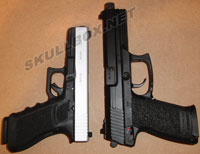 45ACP HK tactical vs Glock