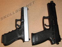 HK Mark 23 and Glock 21C